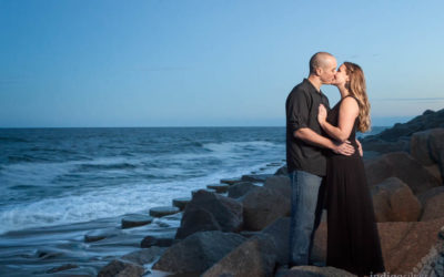 Kate and Marc | Engagement Pictures on the Beach at Fort Fisher | Wilmington Wedding Photographers