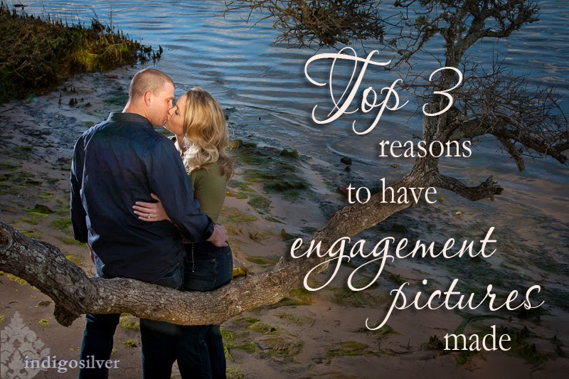 Top 3 Reasons to have Engagement Pictures | Wilmington NC Engagement Pictures | indigosilver