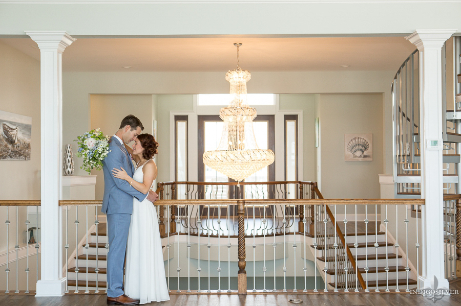 Megan & Jesse | Topsail Beach NC wedding | Topsail Manor | indigosilver studio