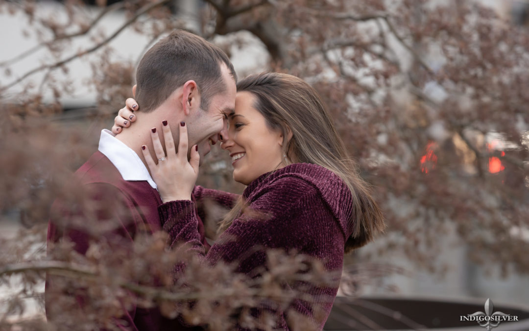 Abi & Brian | Romantic Engagement Session | Charlotte