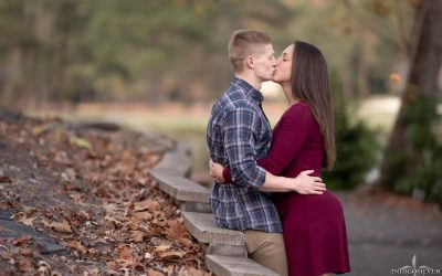 Liz + Josh | Pinehurst Engagement Portraits | indigosilver studio