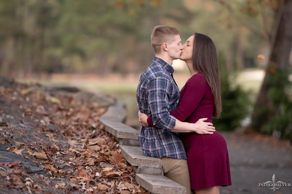 Liz + Josh   Pinehurst Engagement Portraits   indigosilver studio