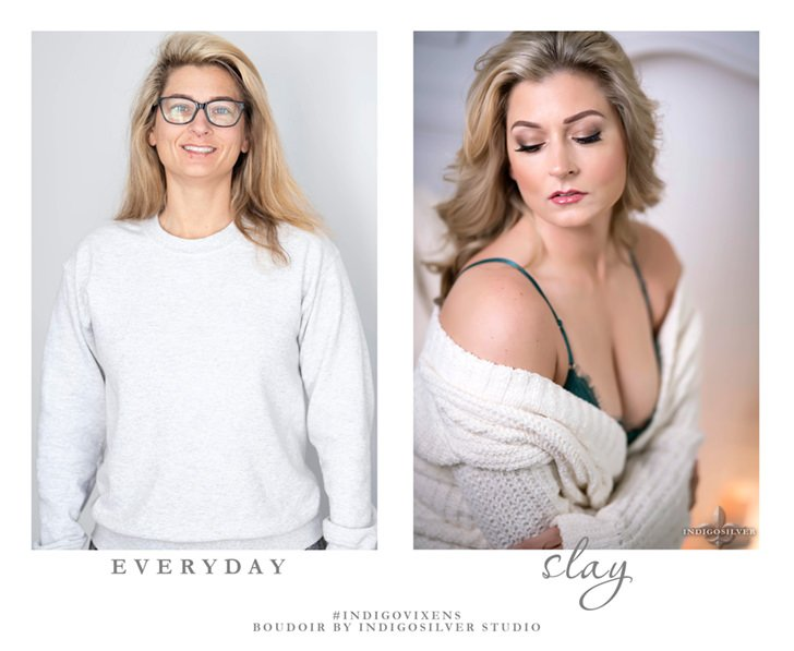 boudoir before and after